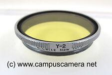 Leica Summitar Filter GCOOL Medium #2 Yellow for Leitz 50mm f2 Summitar Lens
