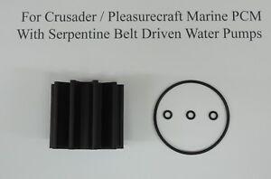 Impeller Kit Replaces Pleasurecraft Marine PCM RP061022 Sierra 18-8926 Mallory