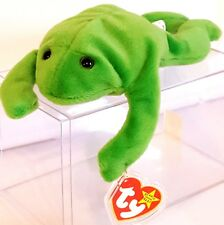 TY BEANIE BABIES 1993 SN 4020 – Legs the Frog – RETIRED - MWMT