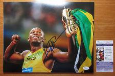 *GOLD SHOES* Usain Bolt Signed 2008 Beijing Olympics 11x14 Photo Proof JSA
