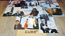CUBE 2 !  jeu 8 photos cinema lobby cards fantastique