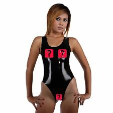 Brand New Latex Catsuit Suit With Open Crotch And Breast (one size)