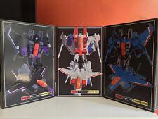 iGear PP03 set MISB | Transformers Masterpiece Starscream Thundercracker Skywarp