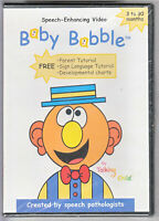 Baby Babble (DVD, 2009) Speech Sign Language Facial Learn ~ FACTORY SEALED ~ NEW