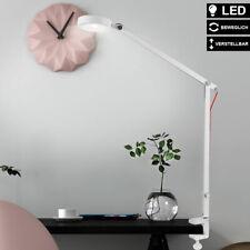 Luxus LED Klemm Lampe Tisch Strahler Arbeits Zimmer Beistell Leuchte beweglich