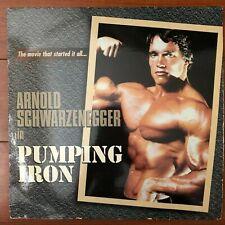 PUMPING IRON Laserdisc LD [ID3120RH] Schwarzenegger