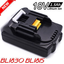 New 18V 1.5 Ah Battery For Makita LXT BL1815 BL1830 Lithium-Ion Compact Cordless