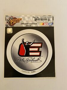 "DALE EARNHARDT SR #3 2002 LEGACY Winner Circle 3"" ROUND DECAL STICKER"