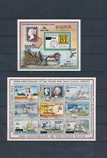 XC24114 Guyana thurn & taxis postal anniversary sheets XXL MNH