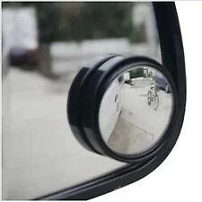 2 X Negro Punto Ciego Coche Furgoneta bicicletas Espejo Remolque Marcha Atrás Auto Adhesivo de conducción