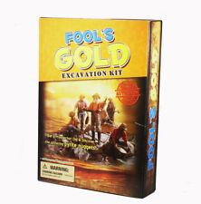 Fool's Gold Panning dig it out Prospector Kit de excavación