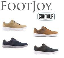 NEW FootJoy Men's Contour Casual Spikeless Golf Shoes NIB! - Choose Color & Size