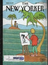 The New Yorker July 27 2009 Cartoon Island by Gahan Wilson Cover 121819AME