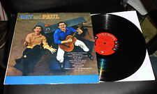 ART and PAUL Songs of Earth & Sky Columbia 6-Eye PROMO Mono All My Trials
