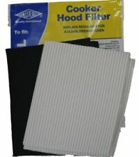 hotte cuisinière GRAISSE & filtre carbone kit pour extracteur ventilateur d'air