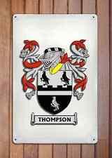 Escobar Coat of Arms A4 10x8 Metal Sign Aluminium Heraldry Heraldic