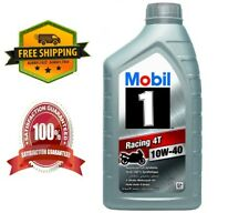 Mobil 1 4T 10W-40 Racing Motor Oil - 1 Liter ** Free Delivery**