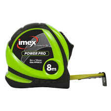 Imex PowerPro 8m Tape Measure 006-PP0825