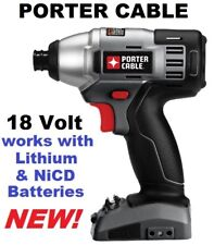 """Porter Cable 18V 18 Volt 1/4"""" Hex Impact Driver PC180ID PC1800ID PC18ID ToolOnly"""