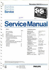 Service Manual-Anleitung für Philips N 4415