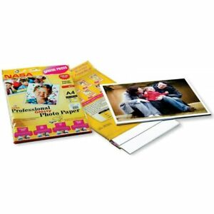High Glossy Photo Paper Multiple Use  Arts And Crafts Pack of 50 sheet