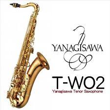 Yanagisawa T-WO2 bronze brass lacquer finish tenor saxophone w/case