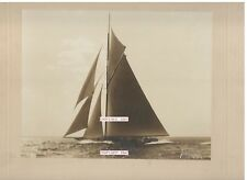 America's Cup Yacht RESOLUTE Original Gel Silver Print - F.A. Walter, New York 3