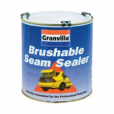 Brushable Seam Body Panel Joint Sealer Grey Rubber Water Proof Sealant 1kg Tin