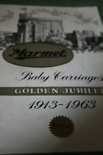 Vintage Marmet pram catalogue 1963 ; Copy from my archive original