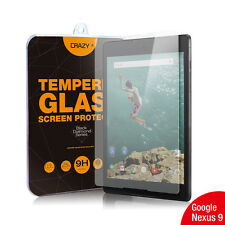 Nexus 9 Tempered Glass Screen Protector For Google - Crazy 9H 0.3mm Film