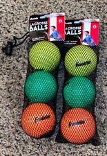 Franklin Lacrosse Balls - Future Champs - 6 Balls - Ages 6+