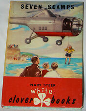 Seven Scamps by Mary Steer (1959 Victory Press, London) HC vintage child's book