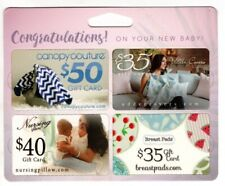 $160 Baby Gift Cards Canopy Couture Breast Pads Nursing Pillow Udder Covers