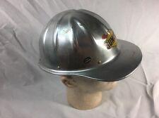 "SUNOCO VINTAGE Aluminum ""Safe-T-Cap"" Hard hat; Gas Oil"