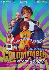 Austin Powers Goldmember Japanisch B2 Filmposter Mike Myers Beyonce 2002 NM