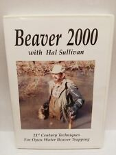 """Dvd """"Beaver 2000"""" By Hal Sullivan Snares Traps Body Grip Foothold Trapping"""
