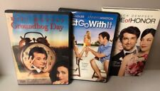 Lot of 3 Romantic Comedies: Groundhog Day/Just Go With It/Made of Honor (#42)