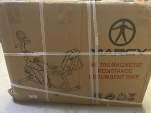 Marcy ME709 Adjustable Recumbent Exercise Bike