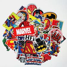 Stickerbomb 50 Retro Sponsoren-Stickern Aufkleber Decals Batman Superman
