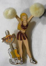 Hard Rock Cafe Myrtle Beach Cheerleader'05 Pin with Pom-Poms