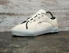 Vintage Womens Vans Made in USA Athletic Shoes White Canvas Read Skate 80S 90S