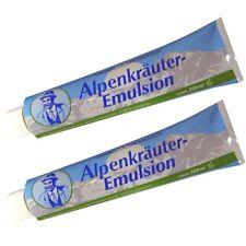 (24,75€/l) 2x Alpenkräuter-Emulsion Creme 200 ml nach dem Bad zur Pflege Massage