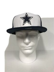 New Era On Field NFL Dallas Cowboys Double Star 59Fifty Fitted Cap Hat 7 3/8 New