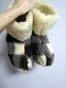 Womens indoor Wool Warm Slippers Boots winter House Shoes gift