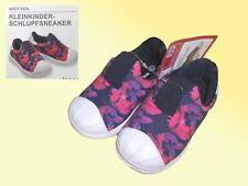 Niño Zapatos De Lona verano Deslizamiento Zapatillas Extra Ligero Talla 22-28