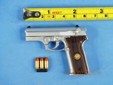 BERETTA GUN PISTOL M8045 Cougar F Inox 1:3 Scale Action Figure Toy Model K1181 E