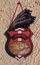 quadro intagliato a mano legno forex LUPI DI TOSCANA  ESERCITO ITALIANO 36X20