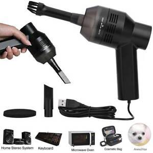 Mini Portable Handheld Corner Desk Table Dust Vacuum Cleaner Sweeper PC Keyboard