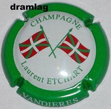 Capsule de Champagne: Rare !!!   ETCHART Laurent , n°29 , contour vert