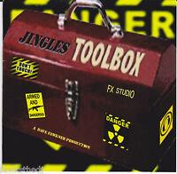 PRO AUDIO IMAGING-SWEEPERS-SAMPLES-SFX-THE JINGLES TOOLBOX CD-RADIO/STUDIO/DJ/TV